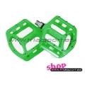 Wellgo - Green magnesium pedals