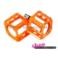 Wellgo - Orange magnesium pedals