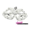 Wellgo - White magnesium pedals
