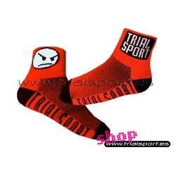 Trialsport - Calcetines rojos
