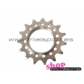 Because - Fixed sprocket (middle)