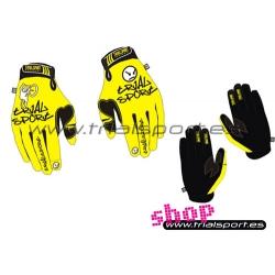 Trialsport - Guantes amarillos